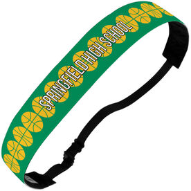 Basketball Julibands No-Slip Headbands - Personalized Basketball Stripe Pattern