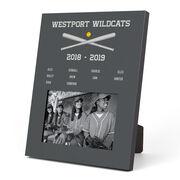 Softball Photo Frame - Team Roster