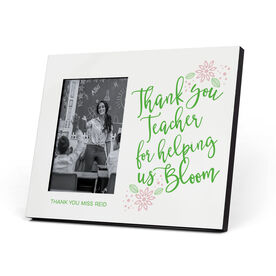 Personalized Teacher Photo Frame - Bloom