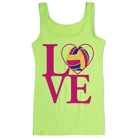 Volleyball Women's Athletic Tank Top LOVE