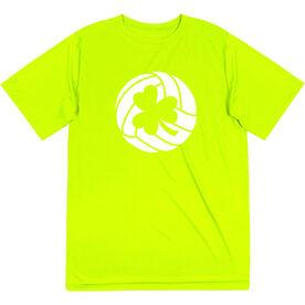Volleyball Short Sleeve Performance Tee - Shamrock Volleyball