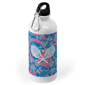 Tennis 20 oz. Stainless Steel Water Bottle - Floral