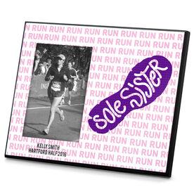 Running Photo Frame Sole Sister Run Pattern