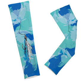 Fly Fishing Printed Arm Sleeves Clouser