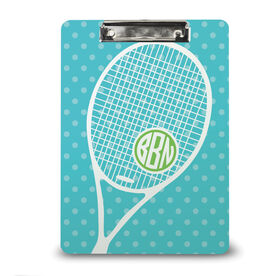 Tennis Custom Clipboard Monogrammed Tennis Life