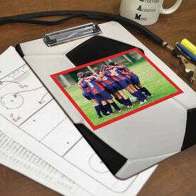 Soccer Custom Clipboard Soccer Your Photo Pattern