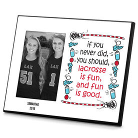 Lacrosse Personalized Photo Frame Lacrosse Is Fun