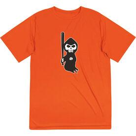 Baseball Short Sleeve Performance Tee - Baseball Reaper