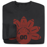 Football Crew Neck Sweatshirt - Football Turkey