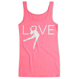 Figure Skating Women's Athletic Tank Top - Love