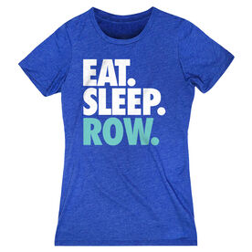 Crew Women's Everyday Tee - Eat. Sleep. Row.