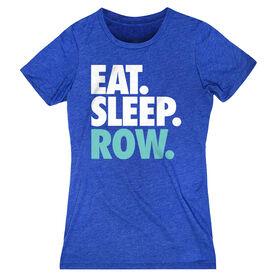 Crew Women's Everyday Tee - Eat. Sleep. Row.