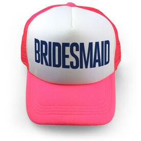 Personalized Trucker Hat - Bridesmaid