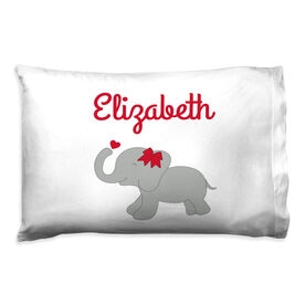 Personalized Pillowcase - Elephant