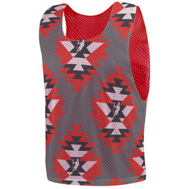 Guys Lacrosse Pinnie - Aztec