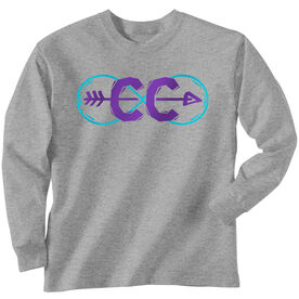 Cross Country Youth T-Shirt Long Sleeve Infinity