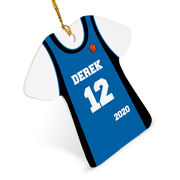 Basketball Ornament - Personalized Jersey