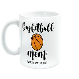 Basketball Coffee Mug - Basketball Mom