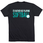 Softball Swag Bagz - I'd Rather Be Playing Softball
