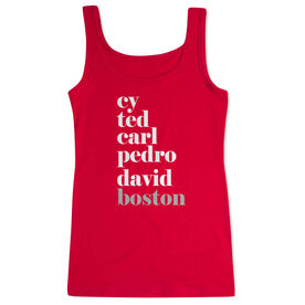 Baseball Women's Athletic Tank Top - FANtastic Boston