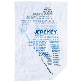 Hockey Premium Blanket - Player Words