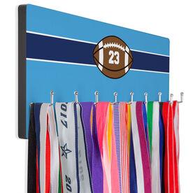 Football Hook Board Football with Stripe