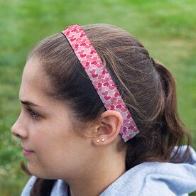 Athletic Julibands No-Slip Headbands - Heart Pattern