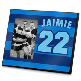 Rugby Photo Frame Player Name Number