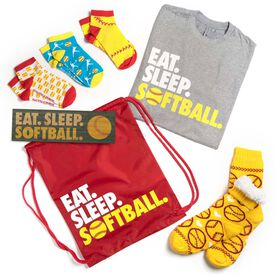 Softball Swag Bagz - Eat. Sleep. Softball
