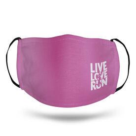 Running Face Mask - Live Love Run