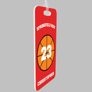 Basketball Bag/Luggage Tag - Basketball Team Ball