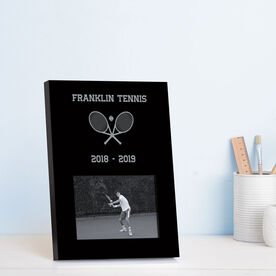Tennis Photo Frame - Team