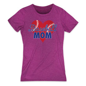 Baseball Women's Everyday Tee - Baseball Mom