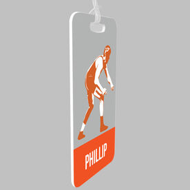 Wrestling Bag/Luggage Tag - Personalized Wrestler