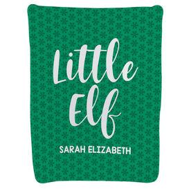 Personalized Baby Blanket - Little Elf