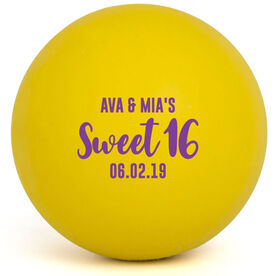 Girls Lacrosse Ball - Sweet 16