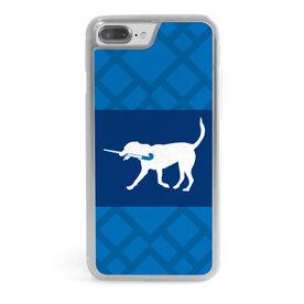 Field Hockey iPhone® Case - Dog Weave