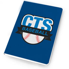Baseball Notebook Custom Team Logo