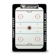 ChalkTalk Hockey Custom Coaches Dry Erase Clipboard