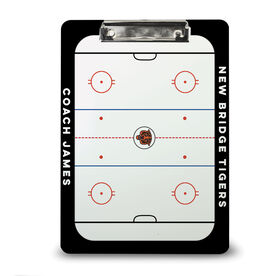 ChalkTalk Hockey Custom Coaches Dry Erase Clipboard