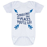 Baby One-Piece - Strolling...Oh! The Places You'll Go!