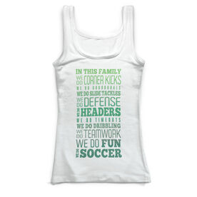 Soccer Vintage Fitted Tank Top - We Do Soccer