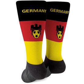 Soccer Printed Mid-Calf Socks - Germany