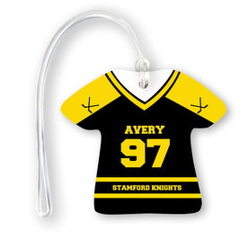 Hockey Jersey Bag/Luggage Tag - Personalized Jersey