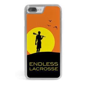 Guys Lacrosse iPhone® Case - Endless Lacrosse Guy