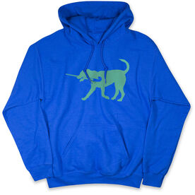 Field Hockey Standard Sweatshirt - Field Hockey Dog