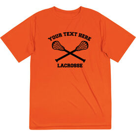 Lacrosse Short Sleeve Performance Tee - Lacrosse Custom