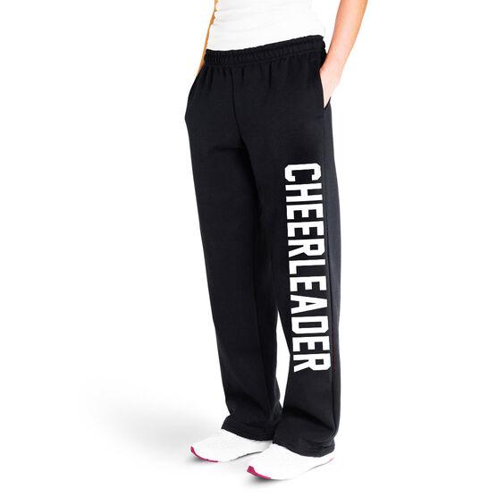 Cheerleading Fleece Sweatpants - Varsity Cheerleader