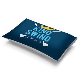 Golf Pillowcase - King Of Swing