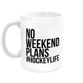 Hockey Coffee Mug - No Weekend Plans